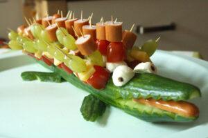 Das Gurkenkrokodil